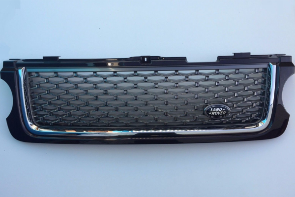 Genuine Range Rover L322 Autobiography Ultimate Edition Grille Roussillion Red